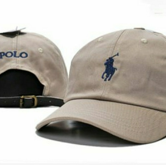 5cda997a POLO RALPH LAUREN LEATHER ADJUSTABLE STRAP DAD HAT.  M_5adf9290a6e3ea1eb662a43f. Other Accessories ...